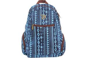 Mochila Escolar Capricho Azul 48908