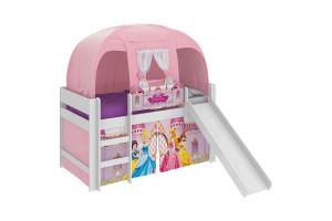 cama infantil princesas disney play com escorregador e barra
