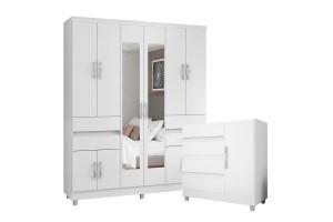 comoda-8000-e-guarda-roupa-exellence-3430-branco-flex-com-pe