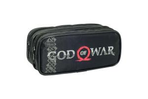 Estojo Escolar God Of War Duplo 131784 Tilibra