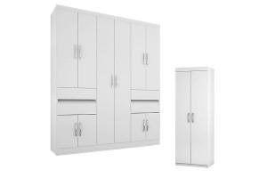 guarda-roupa-1430-branco-e-arrmario-multiuso-6020-branco
