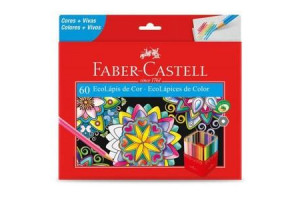 Lápis De Cor 60 Ecolápis - Faber Castell