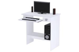 Mesa de Computador Branco Brilho
