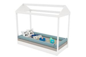 Mini cama Montessoriana Branco - Pura Magia