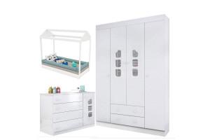 quarto-de-bebe-livia-com-mini-cama-montessoriana-branco-bril