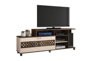 Rack Bancada para Sala Inovatta Deck Off White  – HB Móveis
