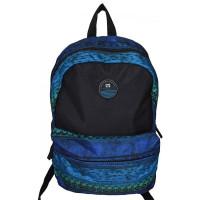1Mochila Escolar Hang Loose HL1100 Preto/Azul - Nytron