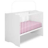 6Quarto de Bebê New Cristal 4 Portas com Berço Alegria Branc