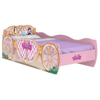 cama infantil princesas disney star rosa pura magia